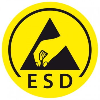 ESD Behälter Schutz Symbol