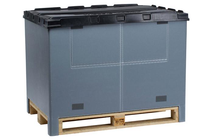Faltbarer Aufsatzrahmen Pallet TOP Box Vorschau