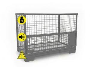 Gitterbox Nachteile gegenüber Con-Pearl Großladungsträger