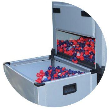 Großladungsträger Lagerbehälter Light FLOW Box