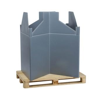 Kunststoff-Großbehälter Pallet TOP Box
