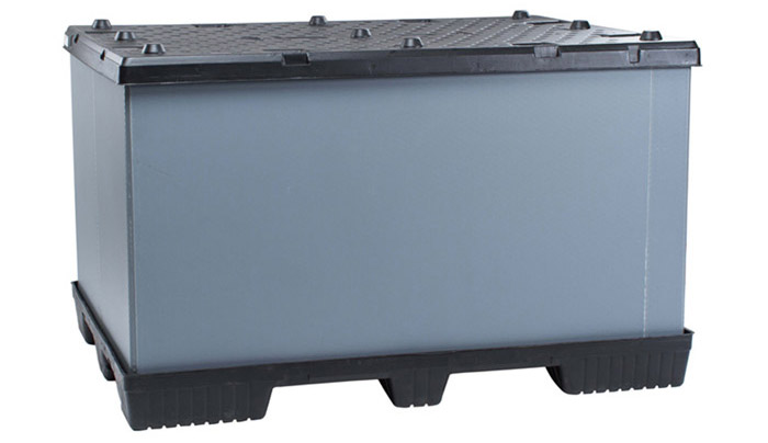 Plastic Gaylord Pallet Container