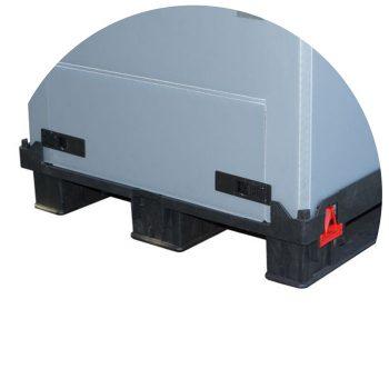 Paletten Behälter Light Flow Box foot