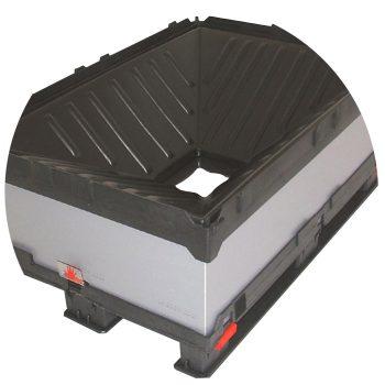 Palettenbox Bodenauslass Light FLOW Box