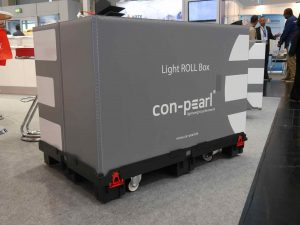 gaylord container with rollers: Light ROLL Box