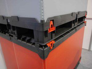 plastic pallet box stackable: light tech box