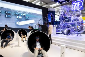 virtual reality glasses IAA commercial vehicles
